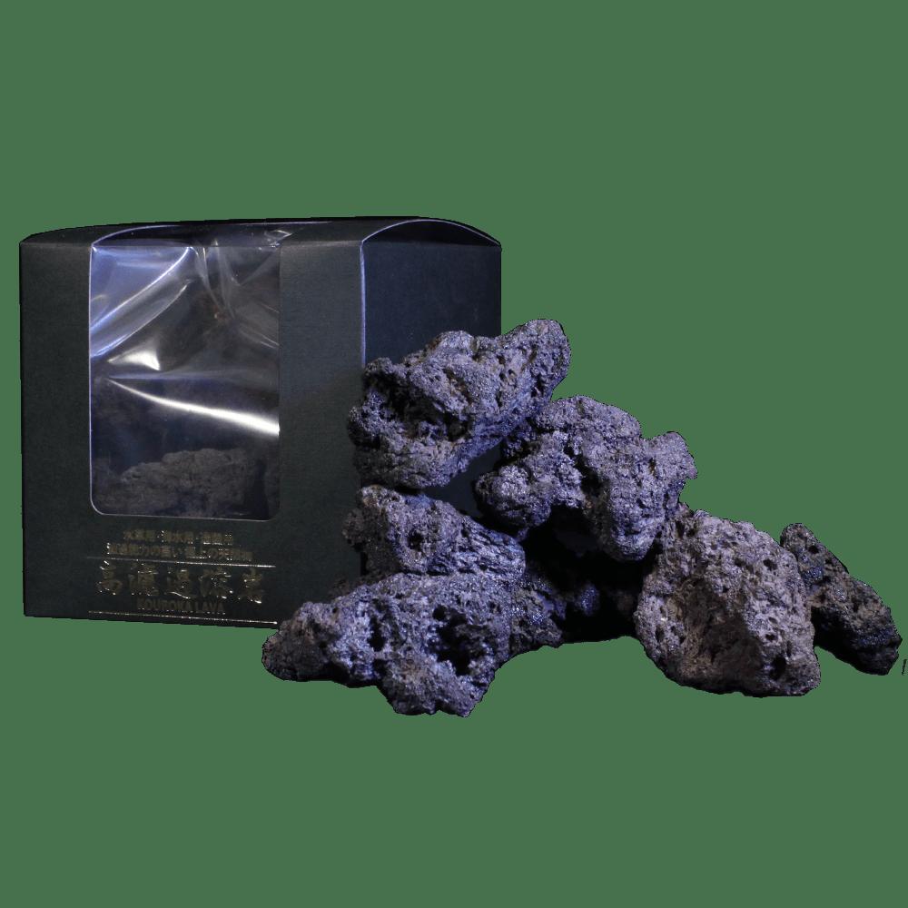 小型溶岩石 B 黒系