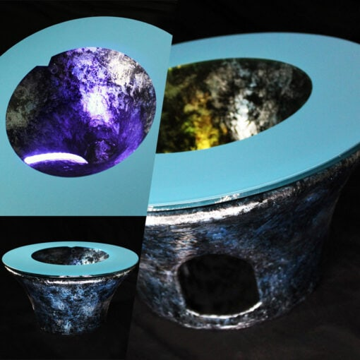 バーズアイ水槽 富士テーブル FUJI50 ブルー