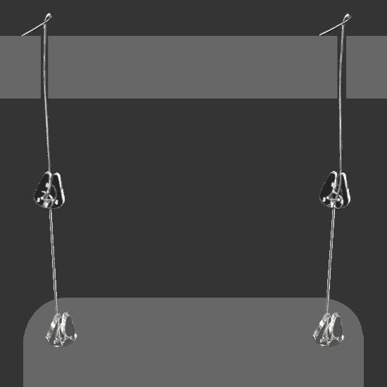 端材工房 吊り下げ具付 兔2個セット