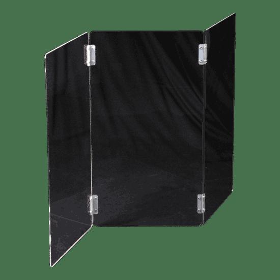 端材工房 卓上屏風 33x60cm 3枚 透明