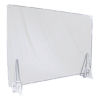 端材工房 卓上仕切り 横・縦置き・吊り兼用 87x60cm 透明