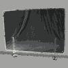 端材工房 卓上仕切り 横・縦置き・吊り兼用 87x60cm 透明 クランプ式