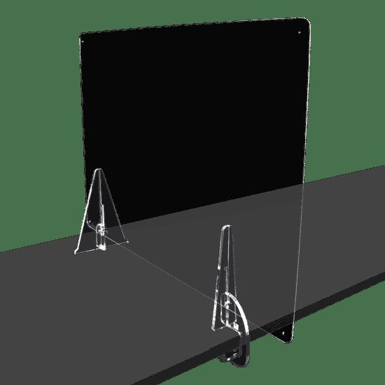 端材工房 卓上仕切りいの足 側面用クランプ+3角