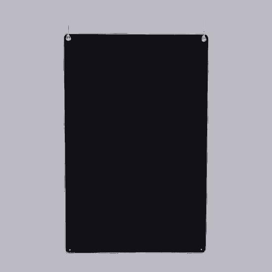 端材工房 卓上仕切り 横・縦置き・吊り兼用 30x60cm 透明 吊り下げ具付