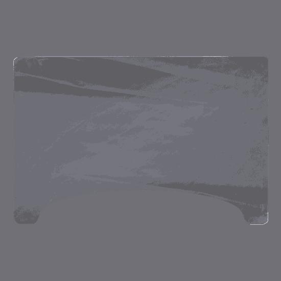 端材工房 卓上仕切りの板 窓付 横置き・横・縦吊り兼用 88x60cm 透明
