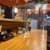 端材工房 卓上仕切り 横・縦置き・吊り兼用 30x60cm 透明