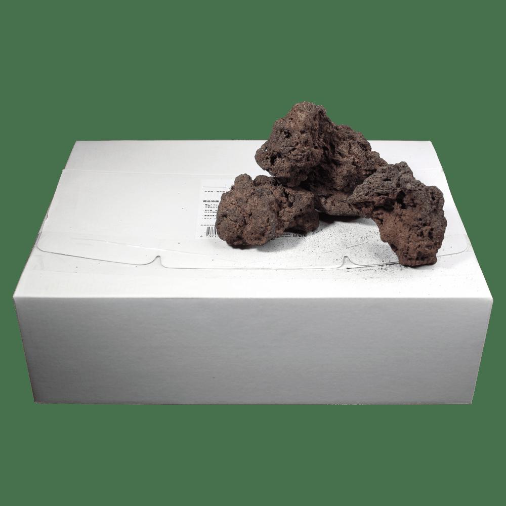 高濾過溶岩3~12㎝ 1kg赤系