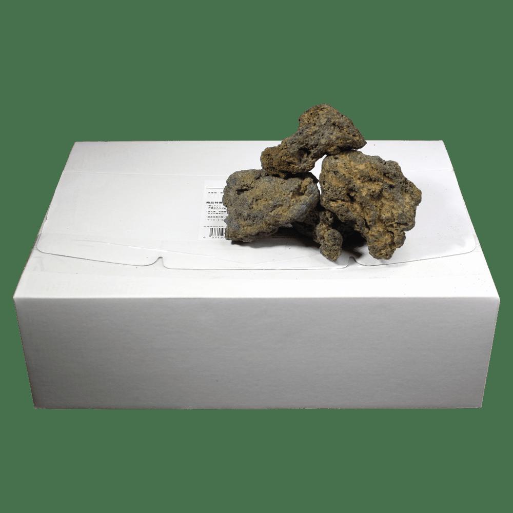 高濾過溶岩3~12㎝ 1kg黄系