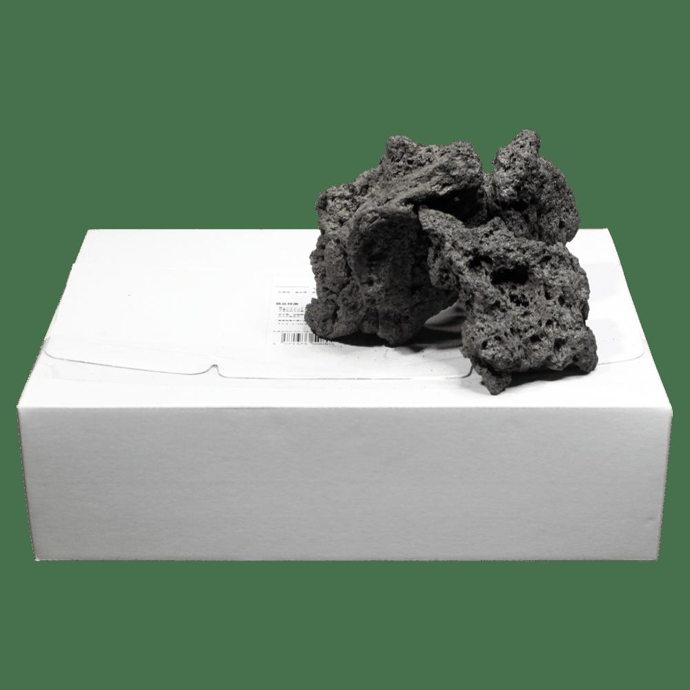 高濾過溶岩8~15㎝ 1.5kg黒系