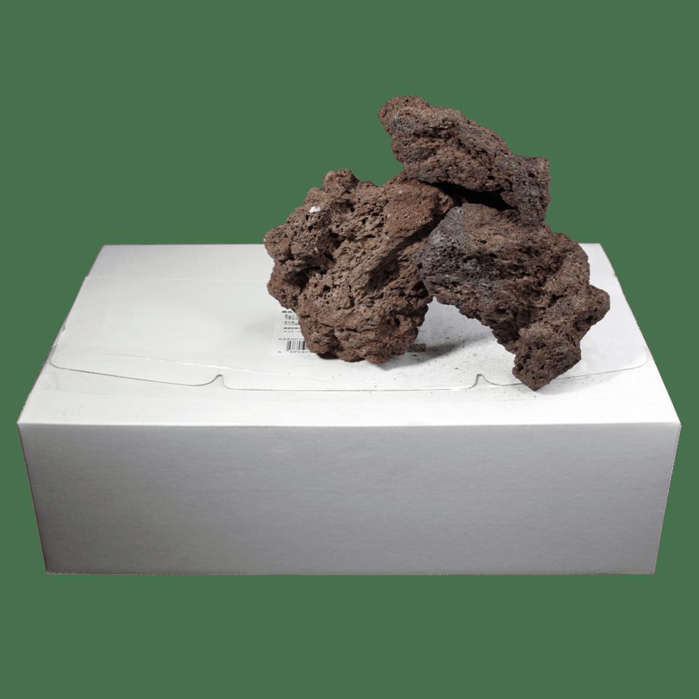 高濾過溶岩8~15㎝ 15kg 赤系