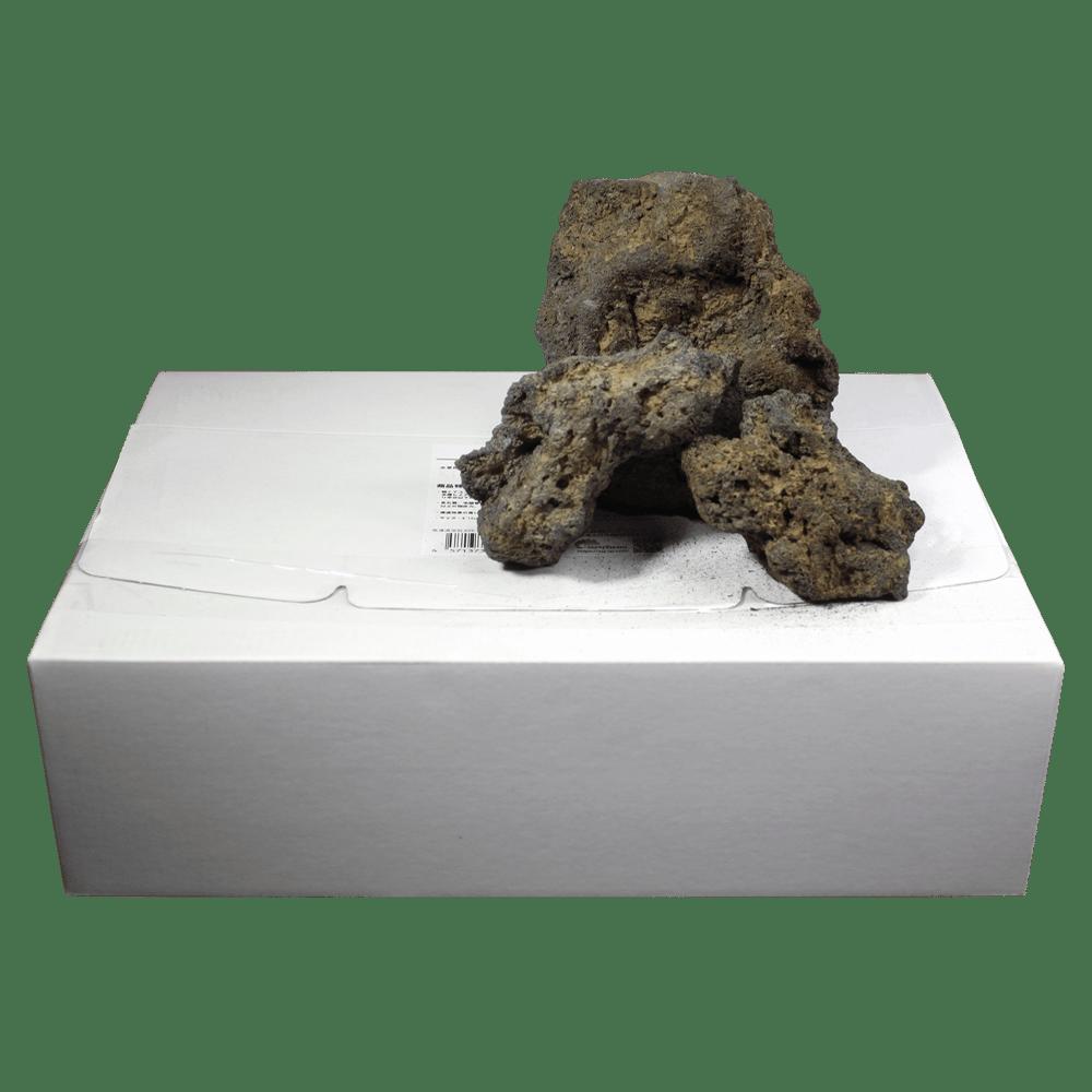 高濾過溶岩8~15㎝ 15kg 黄系