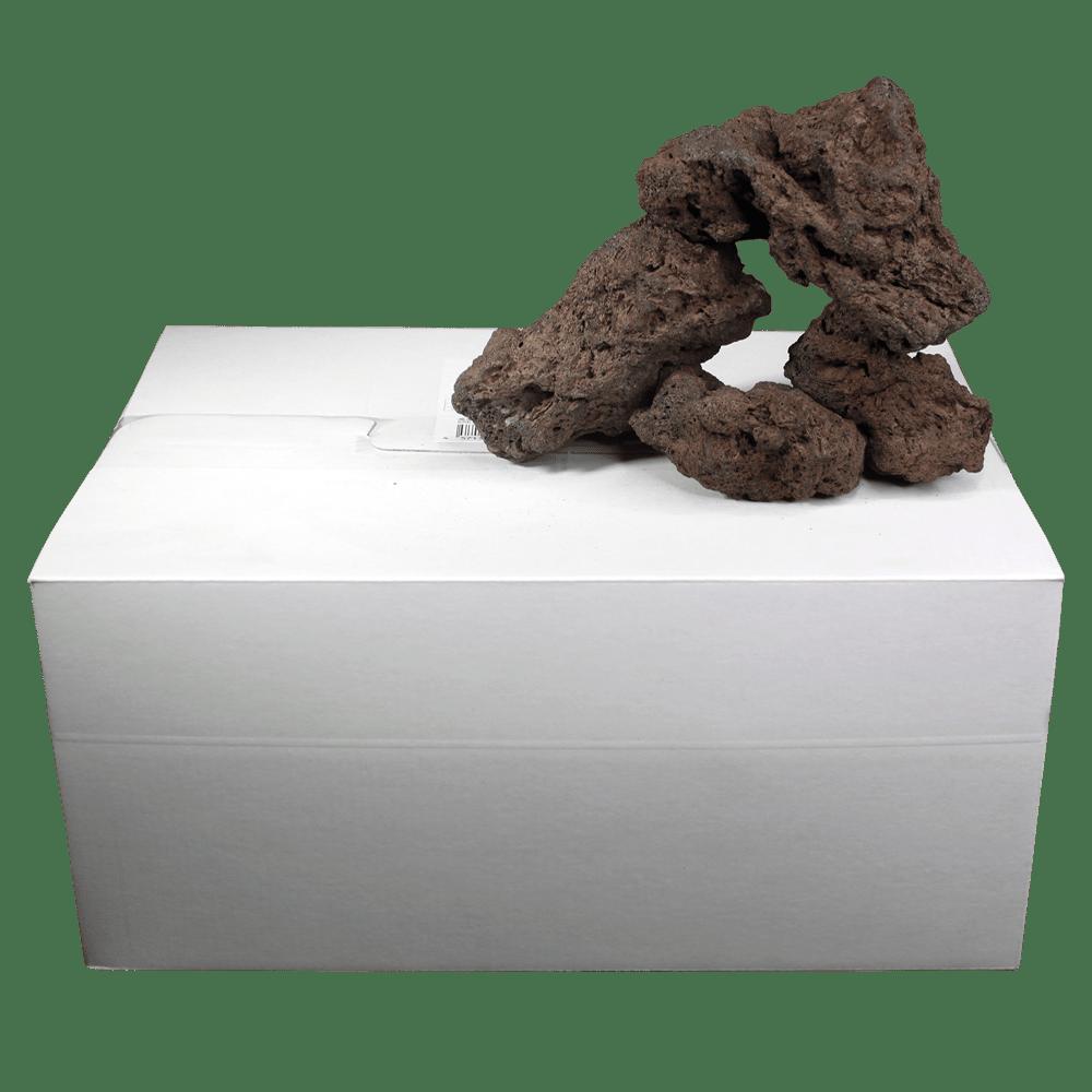 高濾過溶岩3~12㎝ 25kg 赤系