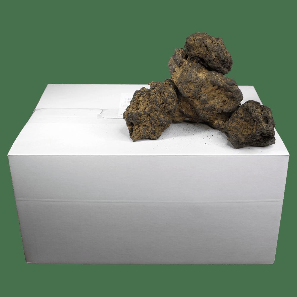 高濾過溶岩3~12㎝ 25kg 黄系