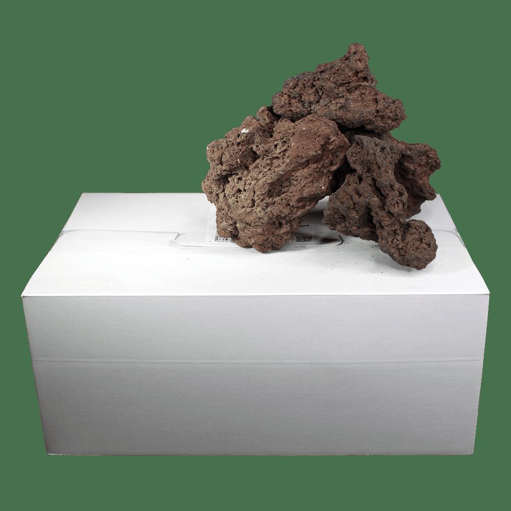 高濾過溶岩8~15㎝ 30kg 赤系