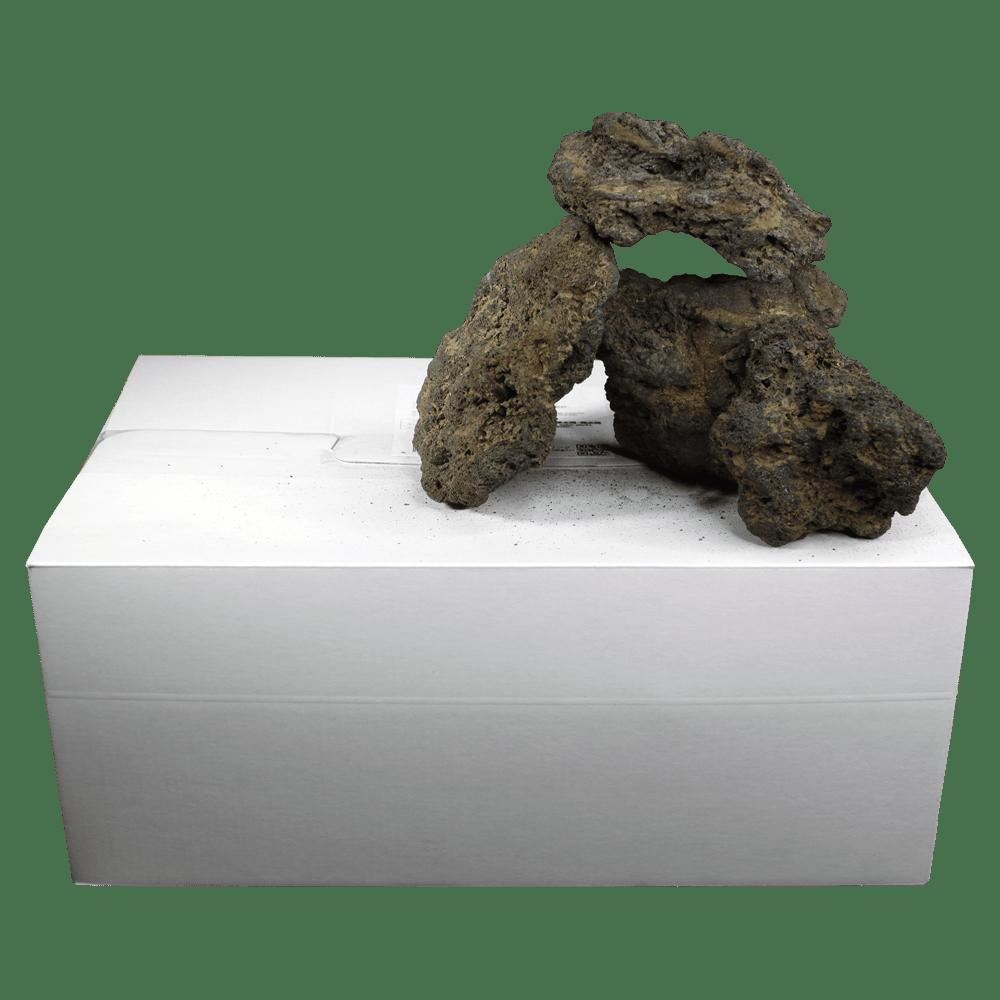 高濾過溶岩8~15㎝ 30kg 黄系
