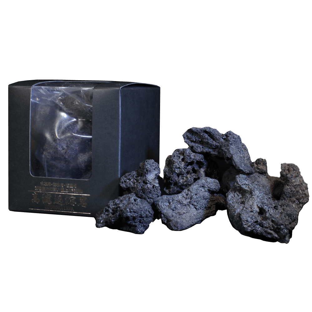 小型溶岩石 B 純黒