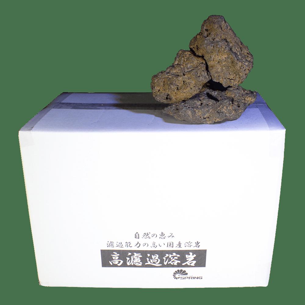 中型溶岩石 M 赤系