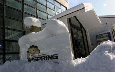 大雪に伴う臨時休業のお知らせ