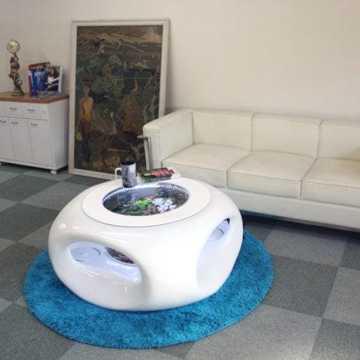 バーズアイ水槽 宙テーブル UFO95 リビングルーム