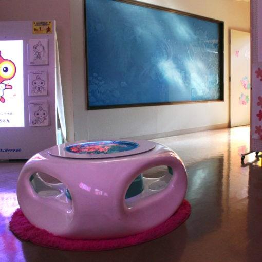 バーズアイ水槽 宙テーブル UFO95 飲食店