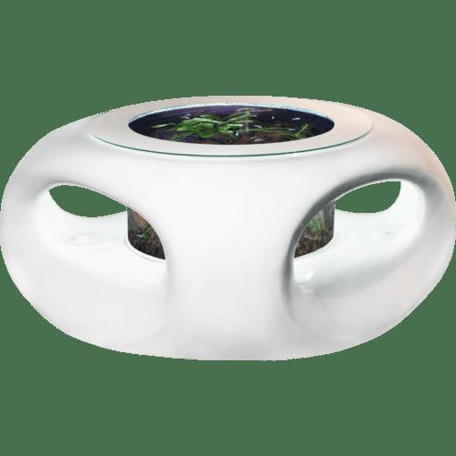 バーズアイ水槽 宙テーブル UFO95 スターリーホワイト 淡水飼育セット