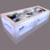 バーズアイ水槽 湧テーブル レクタングラ120白