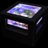 バーズアイ水槽 湧テーブル レクタングラ60黒